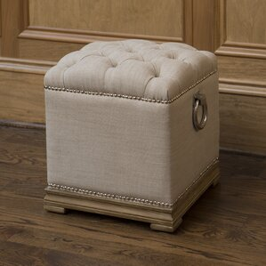 Lyon Ottoman by The Bella Collection