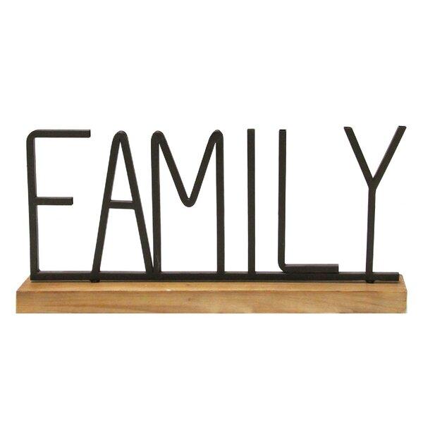 Table Top Letter Blocks Wayfair