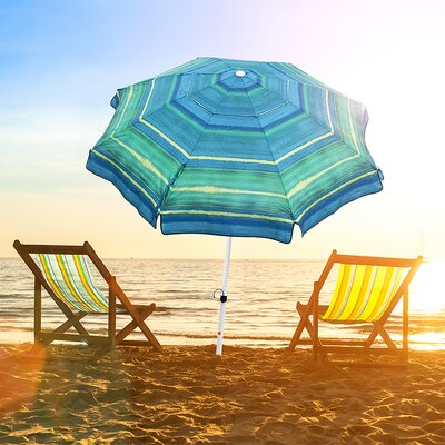 Newington 7 Beach Umbrella by Freeport Park Discount