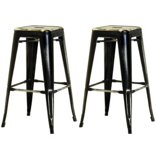 Waldenburg Bar Stool Set (Set Of 4) By Williston Forge