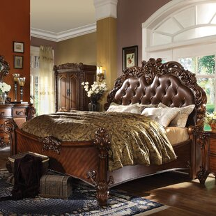 Welles Upholstered Panel Bed
