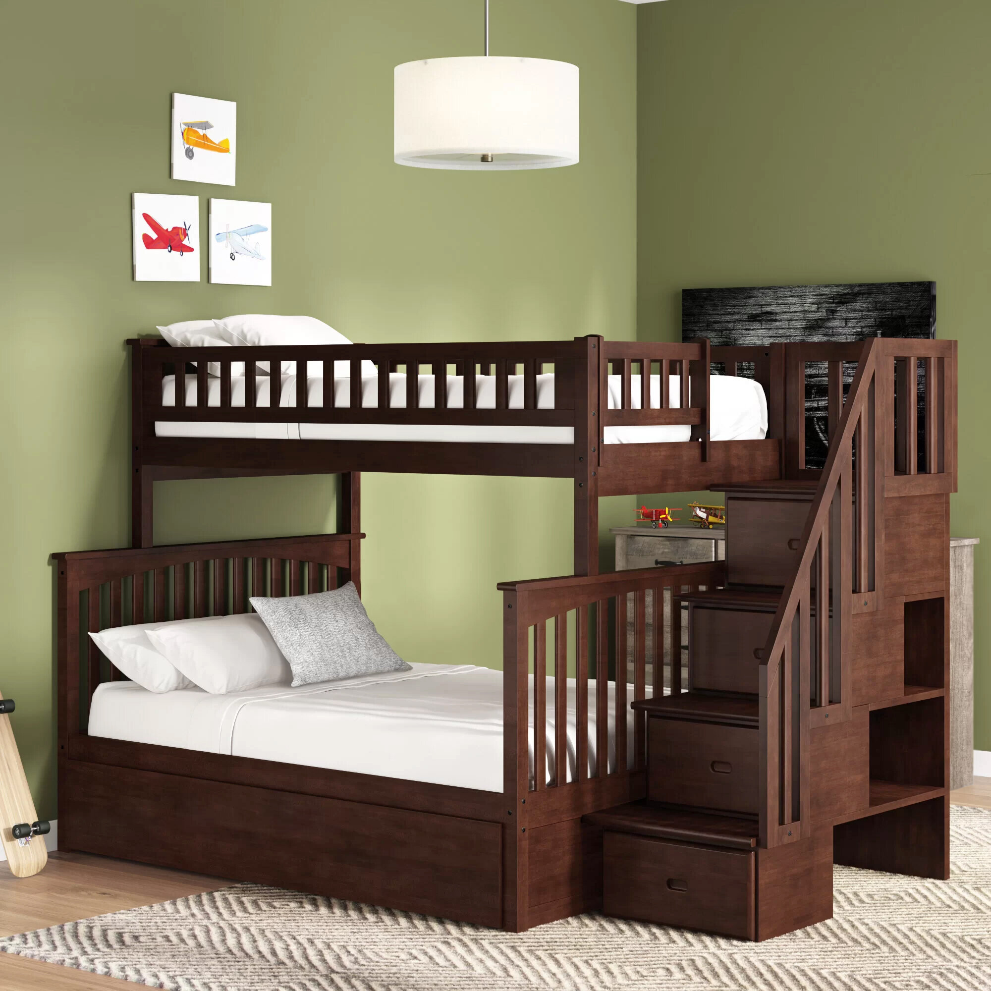 Picture of: Bunk Trundle Kids Beds You Ll Love In 2020 Wayfair