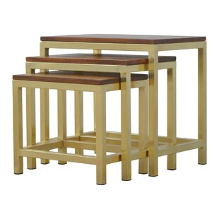 Review Cirincione 3 Piece Stool Set