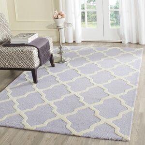 Charlenne Wool Lavender & Ivory Area Rug