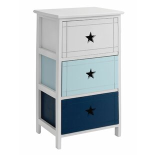 Kearney 3 Drawer Chest of Drawers by Beachcrest Home