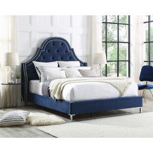 Best Reviews Caspian Upholstered Platform Bed by Rosdorf Park Reviews (2019) & Buyer's Guide