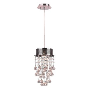 Leiker 1-Light Pendant by Orren Ellis