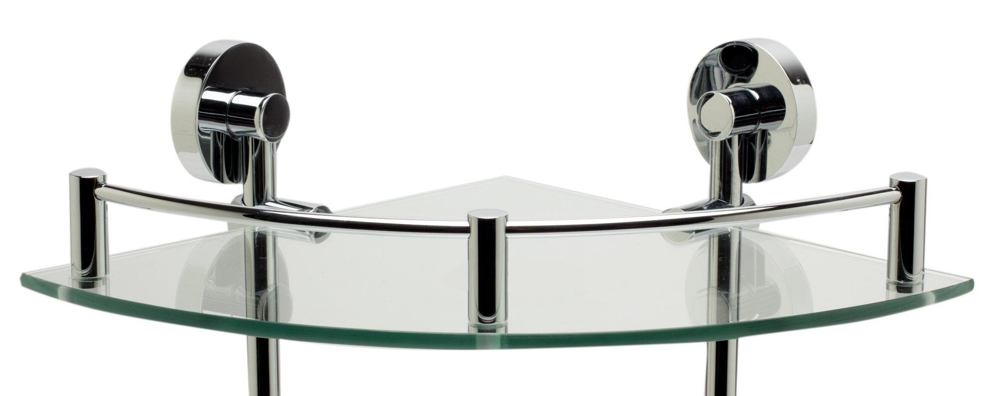 Alfi Brand ALFI brand AB9548 Polished Chrome Corner Mounted Double ...