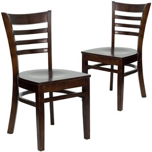 Winston Porter Chafin Solid Wood Dining Chair (Set of 2)