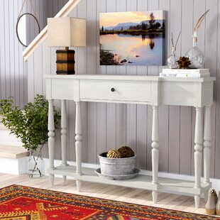 Becket Antiqued Console Table