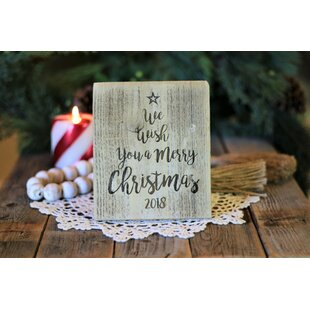 Merry Christmas 2018 Sign