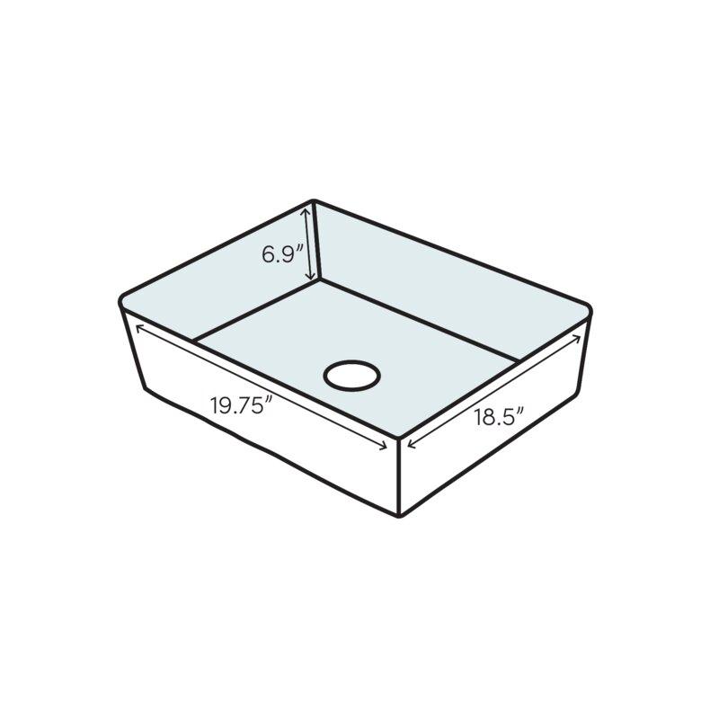 Duravit 04525000001 Vero Above Counter Washbasin