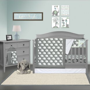 Payeur 6 Piece Crib Bedding Set