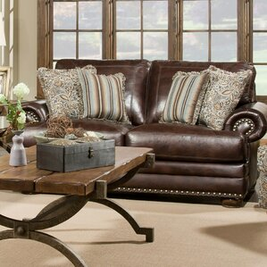 Bivens Nailhead Trim Sofa by Fleur De Lis Living