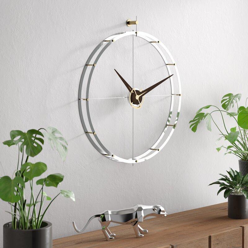 Nomon Doble Oversized 70cm Wall Clock Reviews Wayfair Co Uk