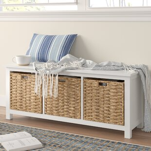 Myrasol Wood Storage Bench