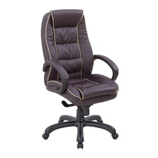 High-Back Executive Chair With Lumbar Support By Ebern Designs