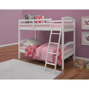 Budget Gainseville Wooden Twin over Twin Bunk Bed by Harriet Bee Reviews (2019) & Buyer's Guide
