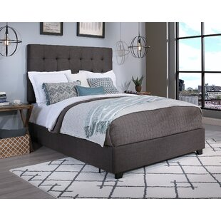 Almendarez Upholstered Platform Bed by DarHome Co 2019 Sale