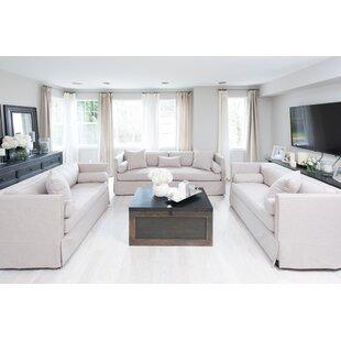 Pavan 3 Piece Living Room Set by Gracie Oaks