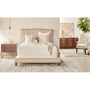 Lahaye Indigo Upholstery Bed
