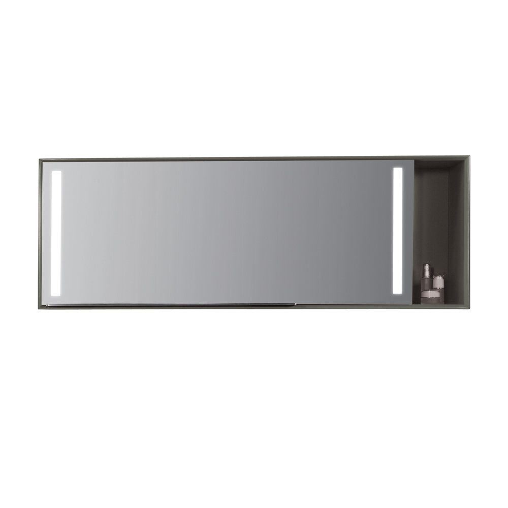 Ronbow Stack Mirror 54 X 197 Surface Mount Medicine Cabinet With