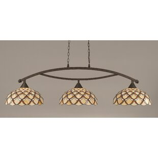 Astoria Grand Austinburg 3-Light Kitchen Island Pendant