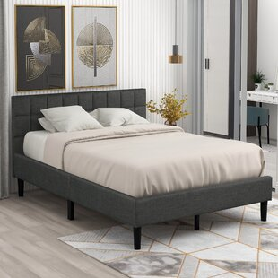 Annelizabeth Queen Upholstered Low Profile Platform Bed by Latitude Run