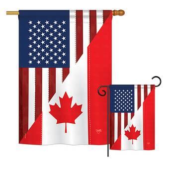 Outdoor Décor Toland Home Garden 1010596 Country National Flag Of Canada 28 By 40 Decorative House Flag Patio Lawn Garden Engineering Webinars Com