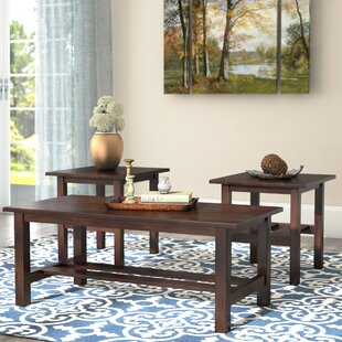 Reviews Harmonsburg 3 Piece Coffee Table Set By Red Barrel Studio