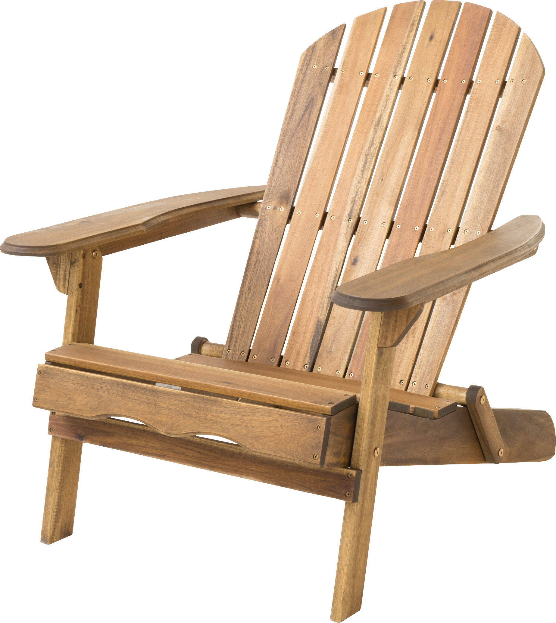 Terrific Ridgeline Solid Wood Folding Adirondack Chair Caraccident5 Cool Chair Designs And Ideas Caraccident5Info