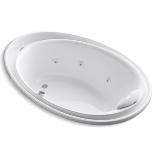 Purist 72 x 46 Whirlpool Bathtub by Kohler