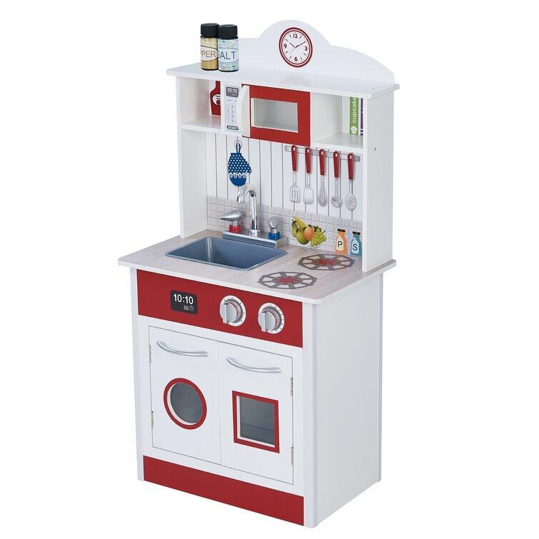 Teamson Kids Little Chef Kitchen Set Reviews Wayfair