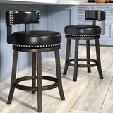 Weinberger Bar & Counter Swivel Stool (Set of 2) by Darby Home Co