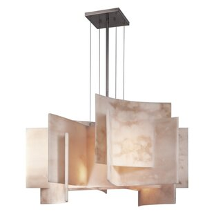 5-Light Shaded Chandelier by G..