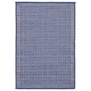 Clatterbuck Texture Blue Indoor/Outdoor Area Rug