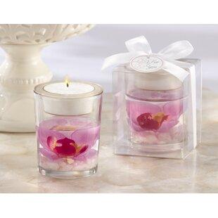 Elegant Orchid Tealight Holder (Set of 10)