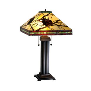 Tiffany Pine Branch Mission 24 Table Lamp