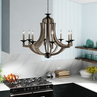 Laurel Foundry Modern Farmhouse Marcoux 8-Light Empire Chandelier