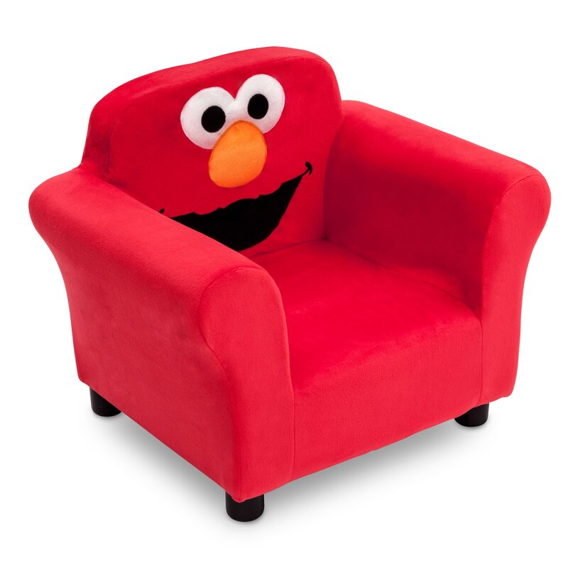 Sesame Street Elmo Kids Upholstered Club Chair