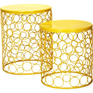 Quisenberry 2 Piece Accent Stool Set