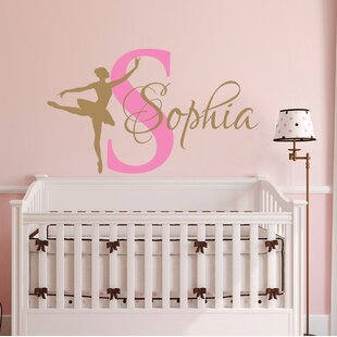 Dancing Nursery Ballet Personalized Name Wall Decal By Decal House