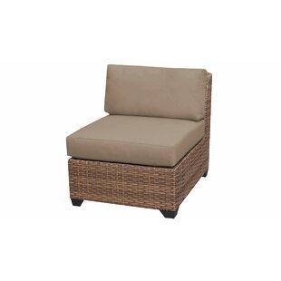 Medina Armless Patio Sofa with Cushions
