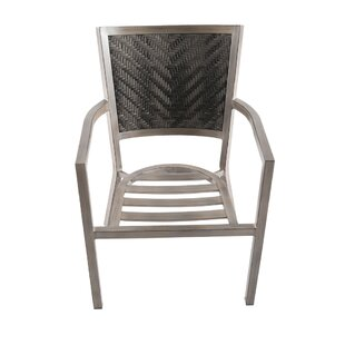 Birmingham Patio Dining Chair with Cushion (Set of 4)