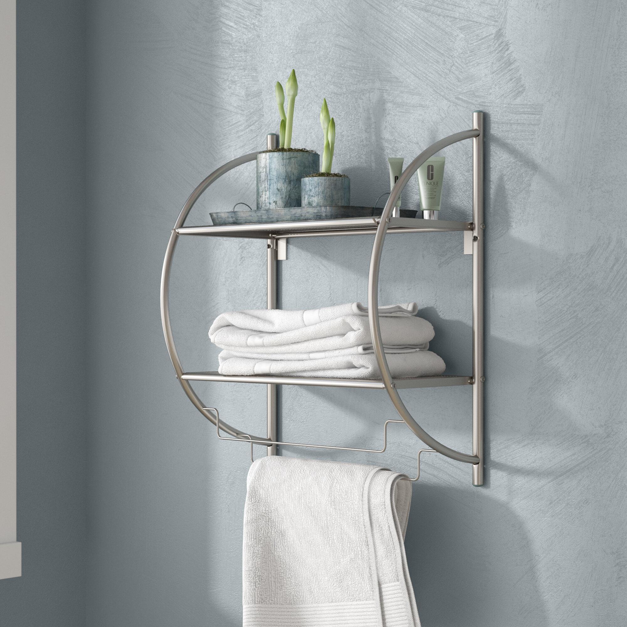 Shelving Wall Mounted Bathroom Cabinets Shelving You Ll Love In 2021 Wayfair