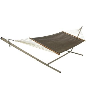 Highland Dunes Hamby Tree Hammock with Stand