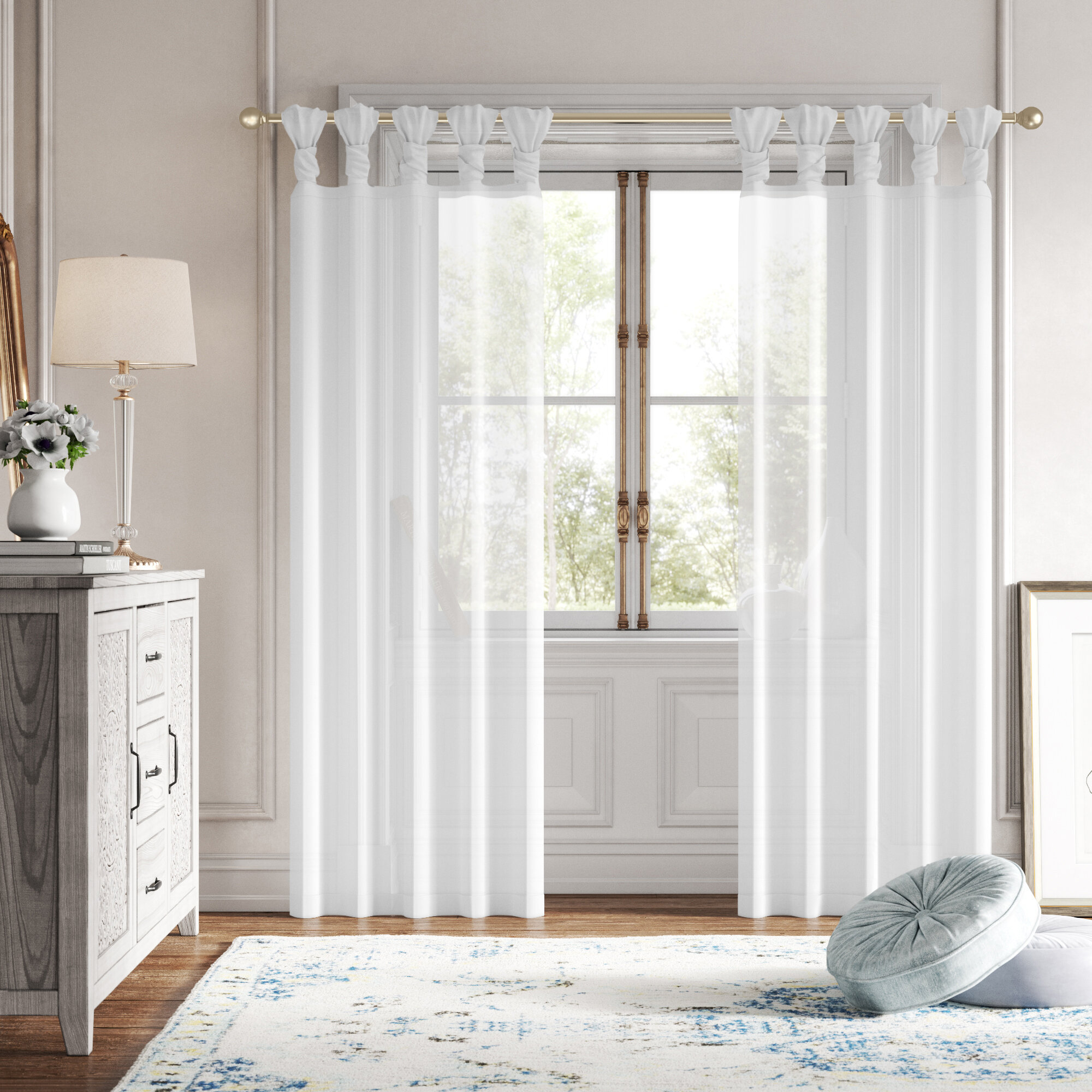 Tab Top Tropical Nautical Curtains Drapes You Ll Love In 2021 Wayfair