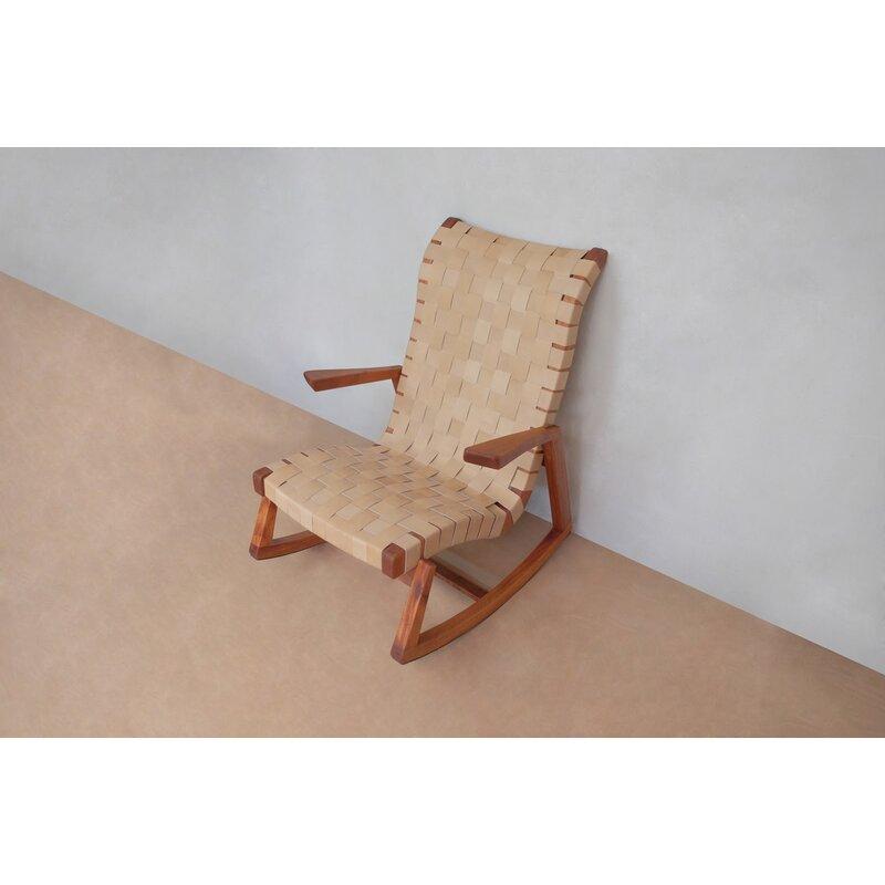 Masaya Amp Co Amador Rocking Chair Perigold