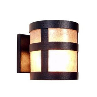 Affordable Price Portland Open 1-Light Outdoor Sconce By Steel Partners