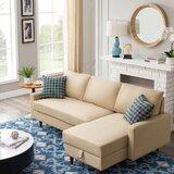 84'' Right Hand Facing Sleeper Sofa & Chaise by Corrigan Studio®
